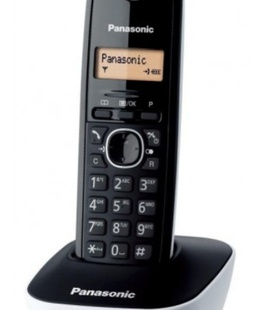 Panasonic Cordless KX-TG1611FXW Black/White  Hover
