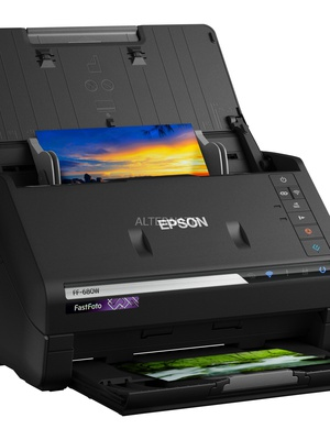 Epson Document scanner  FastFoto FF-680W Wireless  Hover