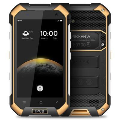 Telefons BLACKVIEW BV6000S Dual SIM Yellow